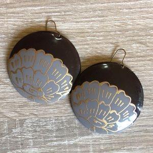 Jewelry - Bohemian flower earrings